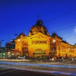 Flinders Street Station is an iconic Melbourne building