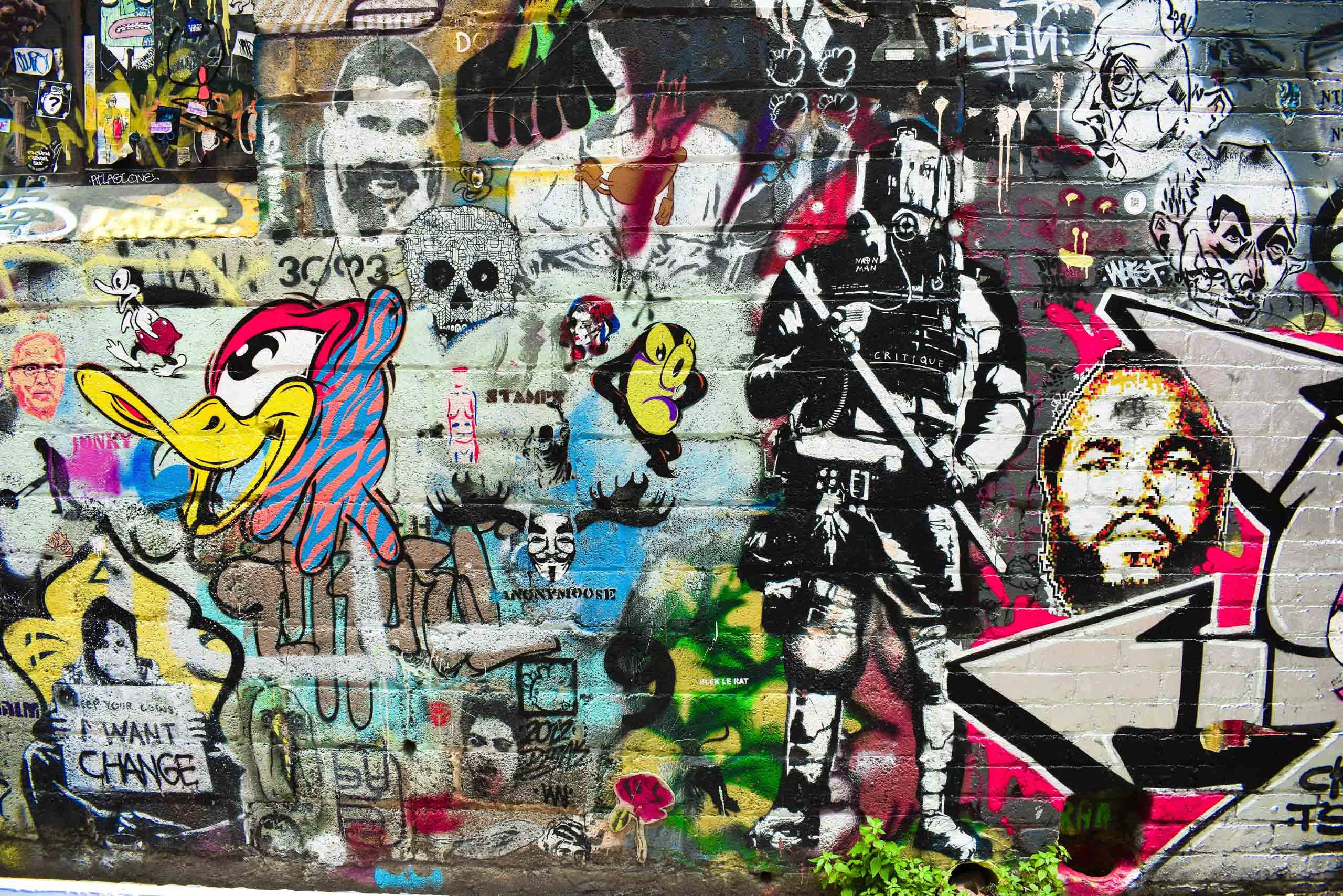 Melbourne Graffiti. Photo by Jase Ess on Unsplash