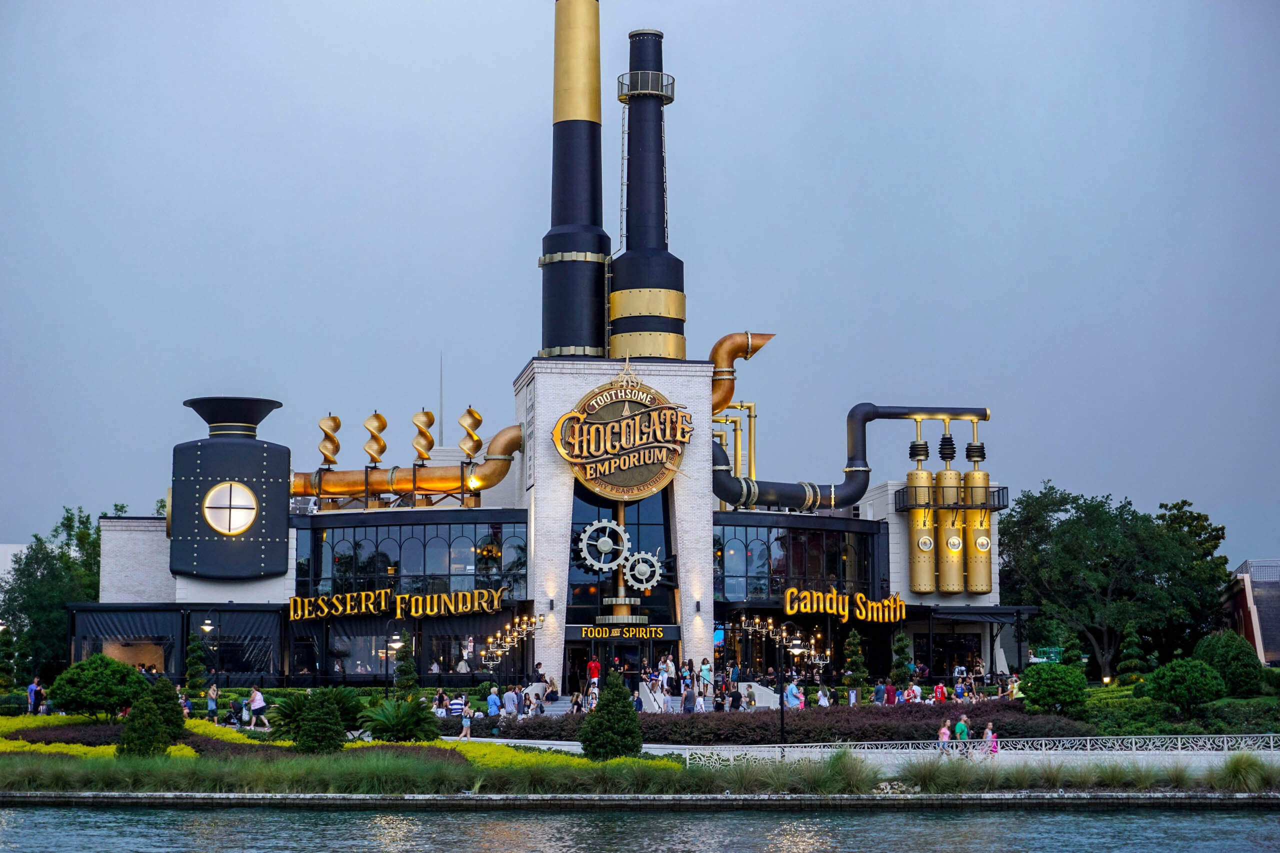 Toothsome Chocolate Emporium at Universal's CityWalk.