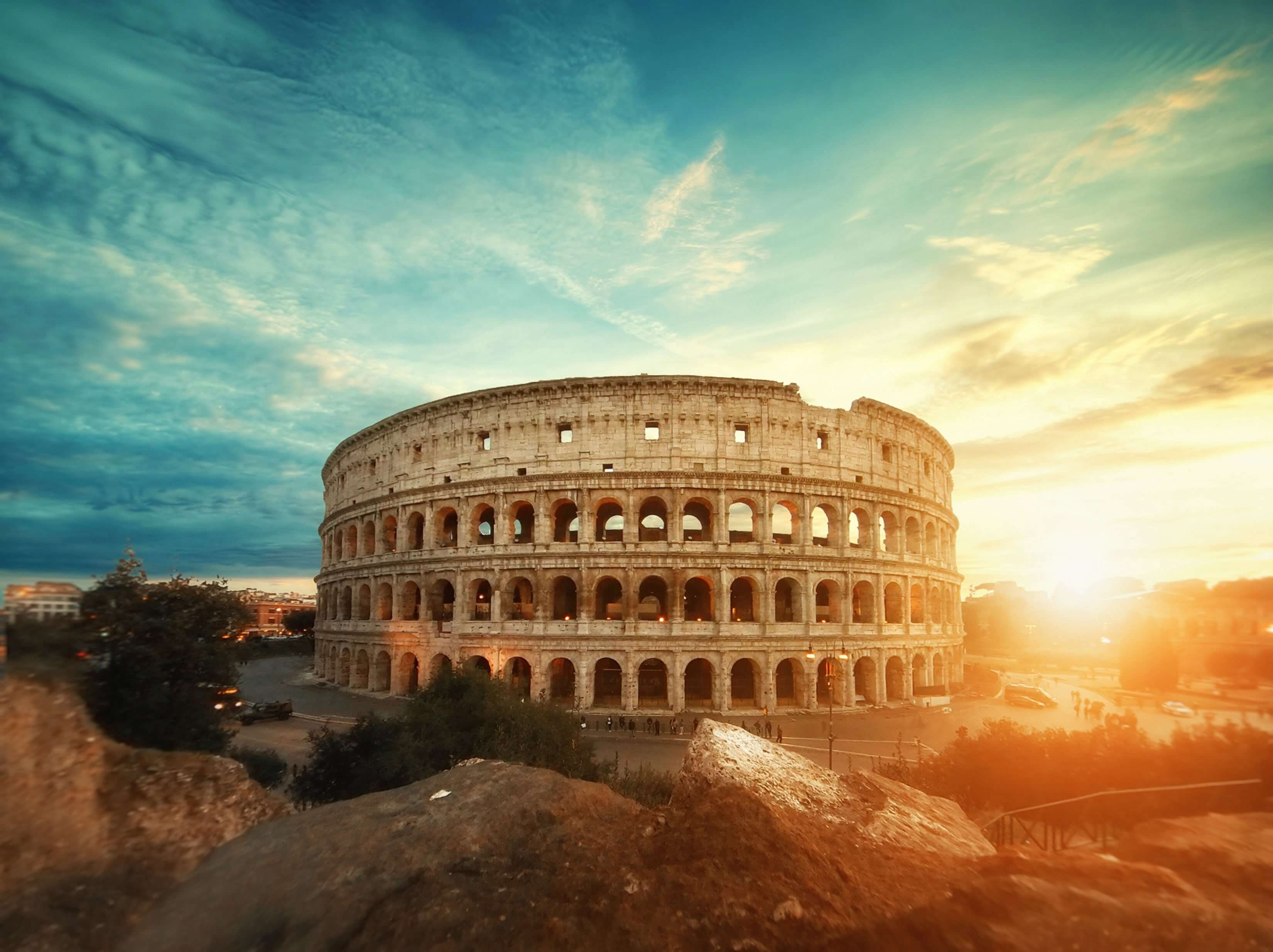 View of the Colosseum in Rome. Photo by Willian West on Unsplash