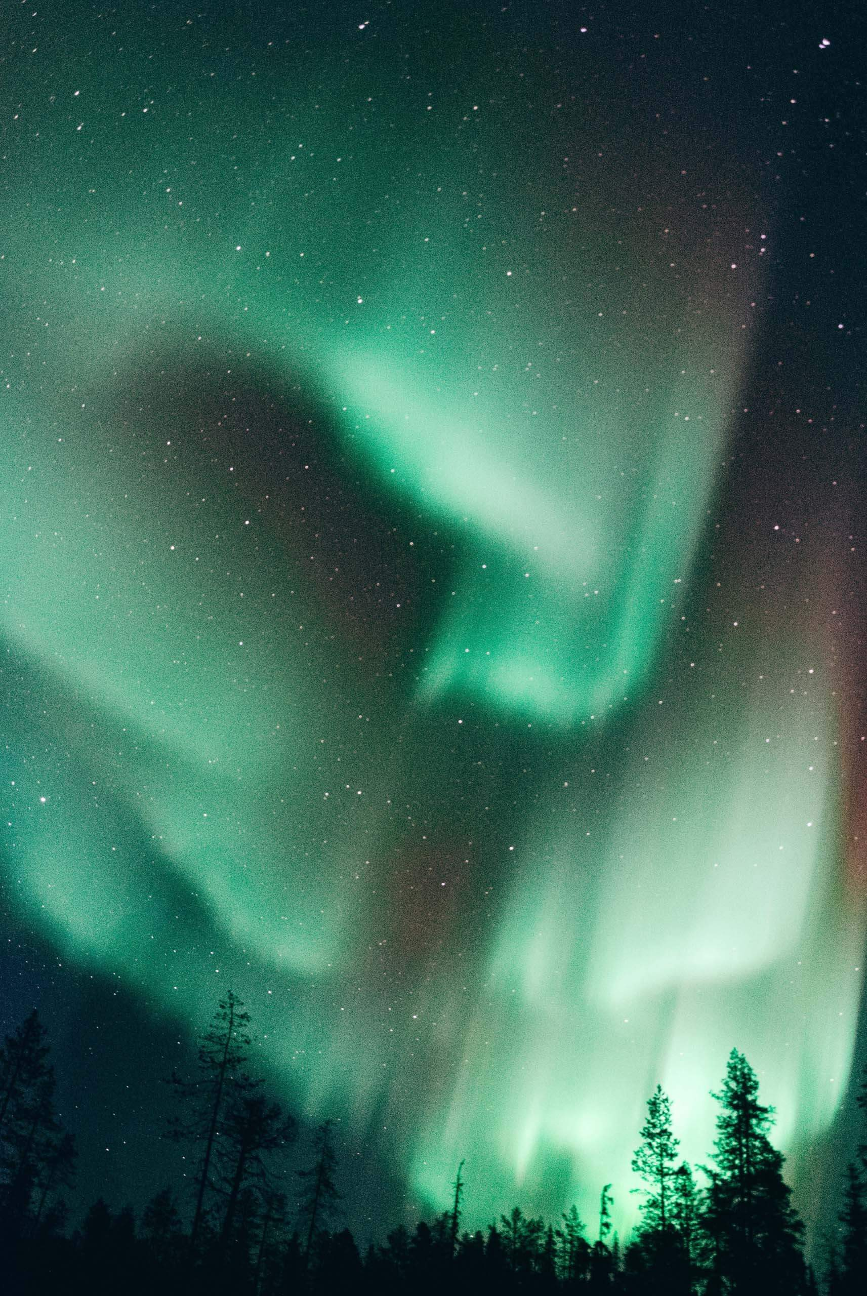 Northern Lights display. Photo by Lucas Marcomini on Unsplash