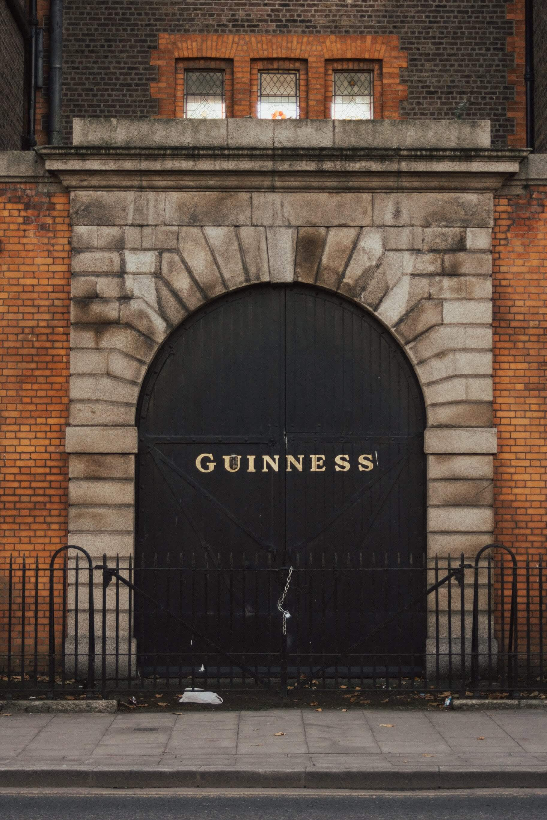 Doors of the Guinness Storehouse