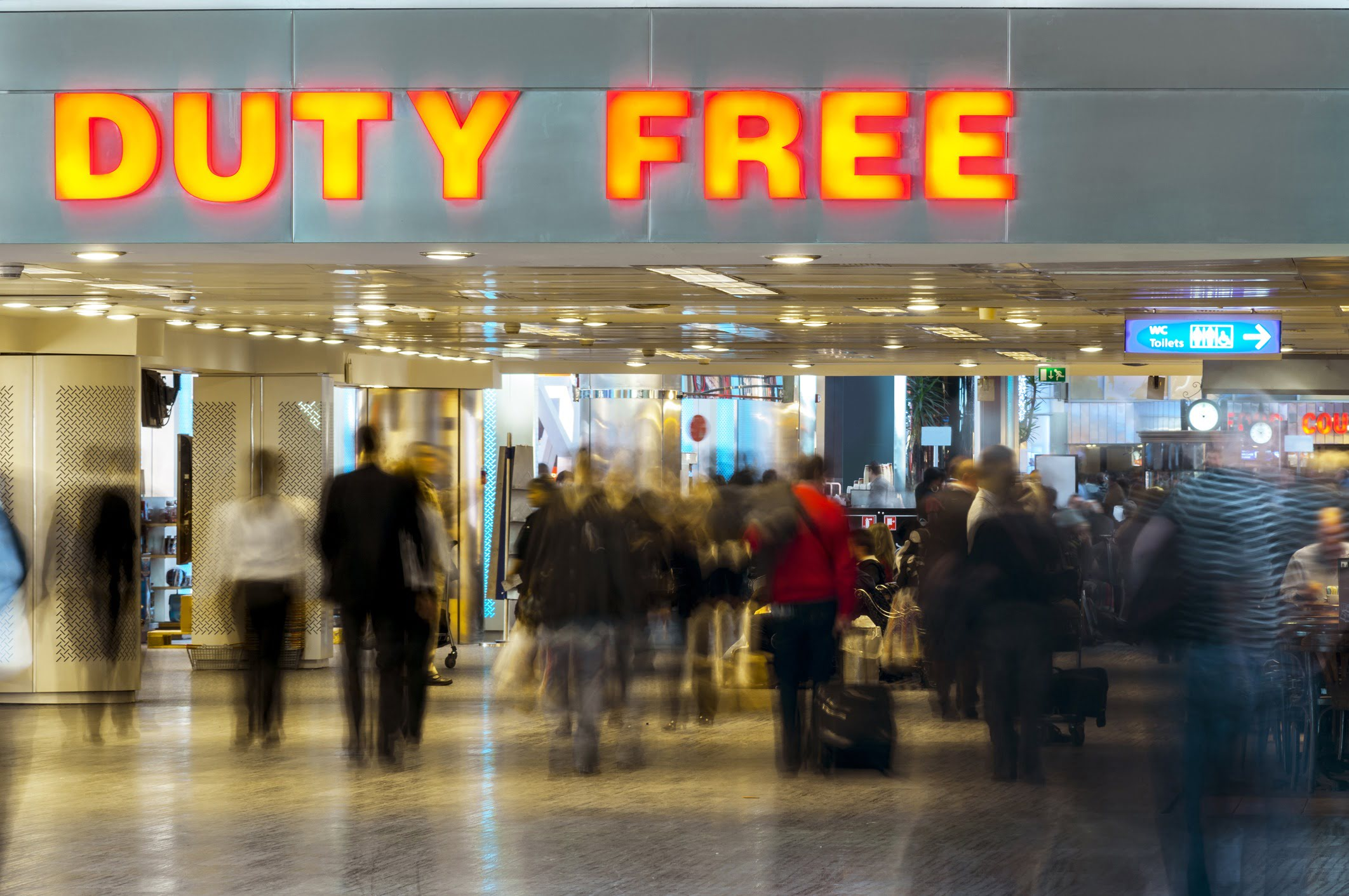 Duty Free store front