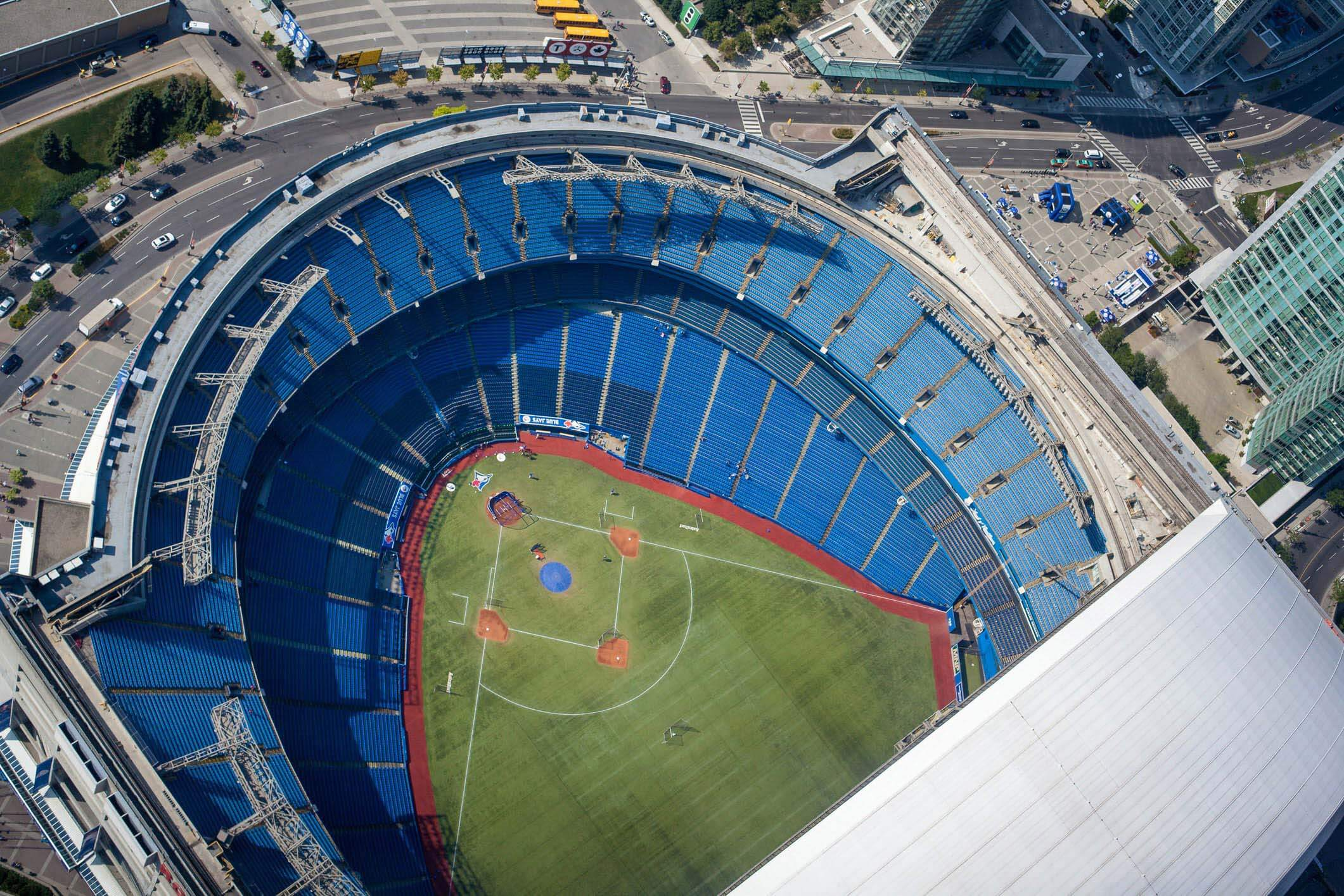The Rogers Centre in Toronto